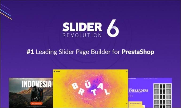 Slider Revolution 6 for PrestaShop is available now