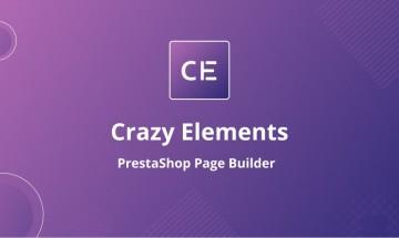 Crazy Elements is the best elementor based page builder for PrestaShop